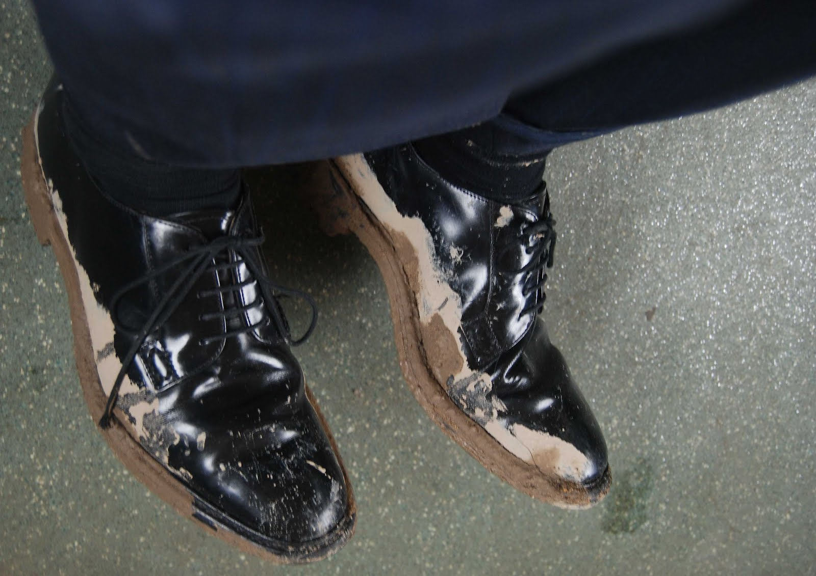 rain formal shoes