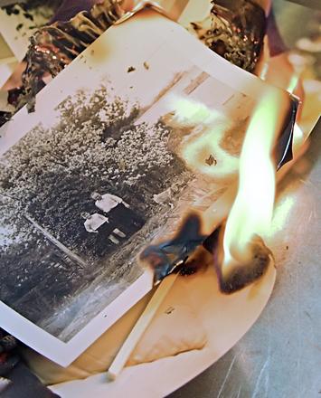 Burning Old Memories by Gerla Brakee