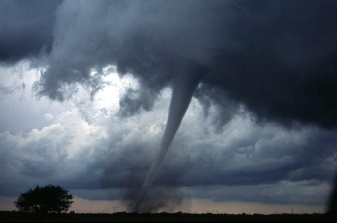 A tornado near Anadarko, Oklahoma.