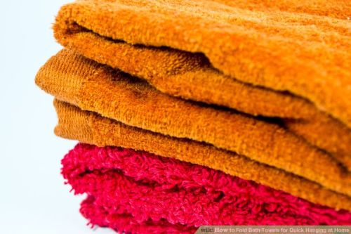 Fold-Bath-Towels-for-Quick-Hanging-at-Home-Step-3